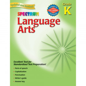 Spectrum Language Arts Gr K