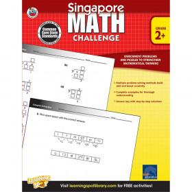 Singapore Math Challenge, Grades 2 - 5
