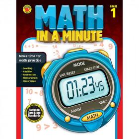 Math In A Minute Book Gr 1