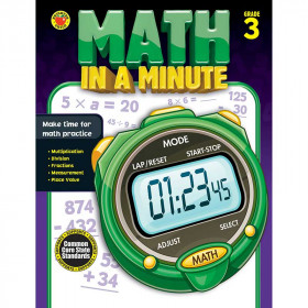 Math In A Minute Book Gr 3