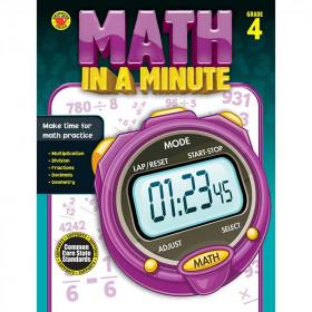 Math In A Minute Book Gr 4