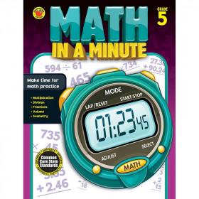 Math In A Minute Book Gr 5