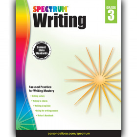 Writing Workbook, Grade 3, Paperback