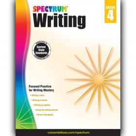 Writing Workbook, Grade 4, Paperback