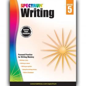 Writing Workbook, Grade 5, Paperback