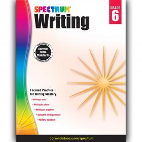 Writing Workbook, Grade 6