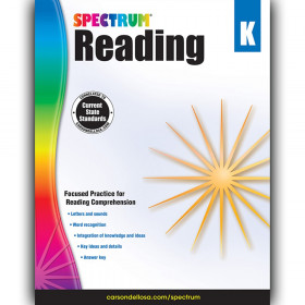 Reading Workbook, Grade K, Paperback