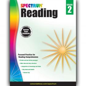 Reading Workbook, Grade 2, Paperback