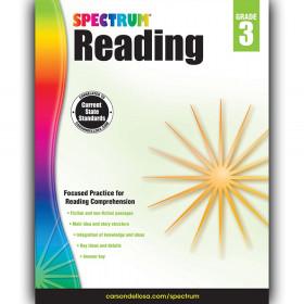 Reading Workbook, Grade 3, Paperback