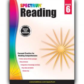 Reading Workbook, Grade 6, Paperback