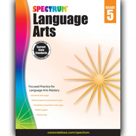 Language Arts Workbook, Grade 5
