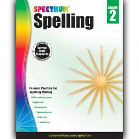 Spelling Workbook, Grade 2, Paperback