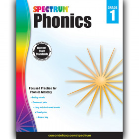 Phonics Workbook, Grade 1, Paperback