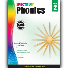 Phonics Workbook, Grade 2, Paperback