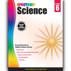 Science Workbook, Grade 6, Paperback