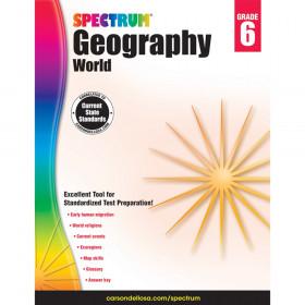 Geography Workbook, Grade 6, Paperback