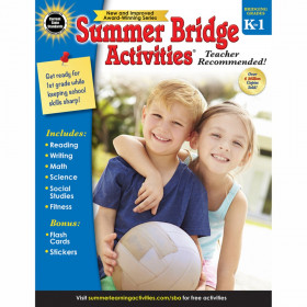 Summer Bridge Activities Workbook, Grade K-1, Paperback