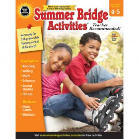 Summer Bridge Activities Workbook, Grade 4-5, Paperback