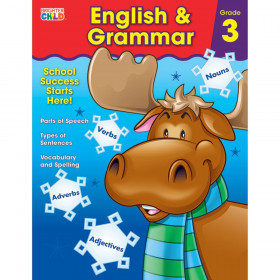 English & Grammar Workbook, Grade 3