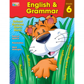 English & Grammar Workbook, Grade 6