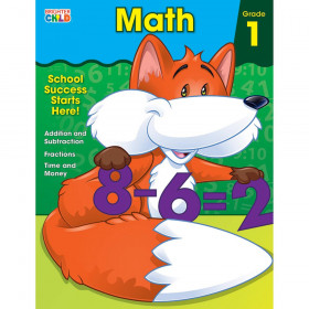 Math Workbook, Grade 1