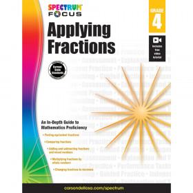 Spectrum Applying Fractions, Grade 4