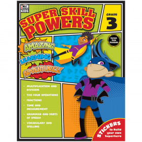 Super Skill Powers, Grade 3