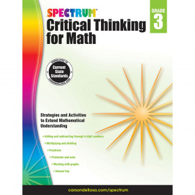 Critical Thinking For Math Wb Gr 3