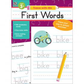First Words Activity Book, Grade Preschool-2