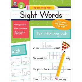 Sight Words Activity Book, Grade Preschool-2