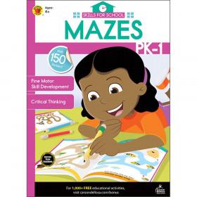 Skills for School Mazes, Grades PK-1