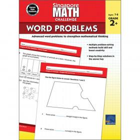 Singapore Math Challenge Word Problems, Grades 2-5