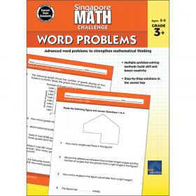 Singapore Math Challenge Word Problems, Grades 3-5