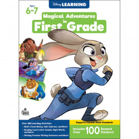 Magical Adventures in First Grade Workbook, Grade 1, Paperback