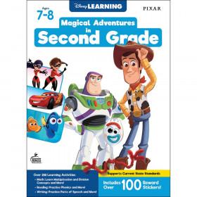 Magical Adventures in Second Grade Workbook, Grade 2, Paperback