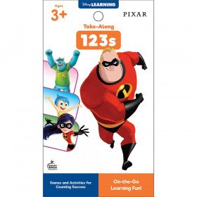 My Take-Along Tablet: Pixar 123s Activity Pad, Grade PK-1, Paperback