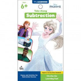My Take-Along Tablet: Frozen 2 Subtraction Activity Pad, Grade 1-3, Paperback