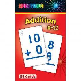 Spectrum Flash Cards Addition 0-12 Gr 1-3