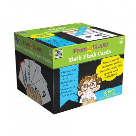 Math Flash Cards, Grades PK-3
