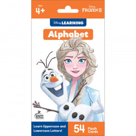 Frozen 2 Alphabet Flash Cards, Grade PK-1