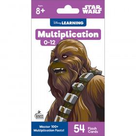 Star Wars Multiplication 0-12 Flash Cards, Grade 3-5