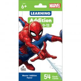 Spider-Man Addition 0-12 Flash Cards, Grade 1-3