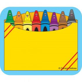 Crayon Box Name Tags, Pack of 40