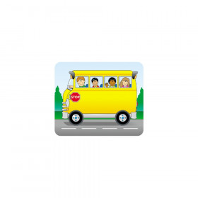 "School Bus Name Tags, 3"" x 2.5"", Pack of 40"