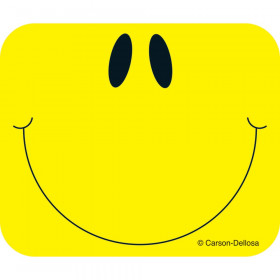 Name Tags Smiley Face Yellow 40/Pk Self-Adhesive
