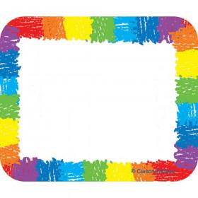 Name Tags, Rainbow: Kid-Drawn, Pack of 40