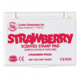 Scented Stamp Pad, Dark Pink, Strawberry
