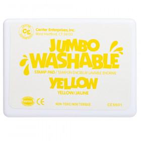 Jumbo Stamp Pad Yellow Washable