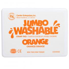 Jumbo Washable Stamp Pad, Orange