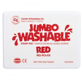 Jumbo Stamp Pad Red Washable